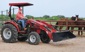 Case IH L350 Loader For D35, DX35, D40, Dx40, D45, DX45 Tractor Operator's Manual Download