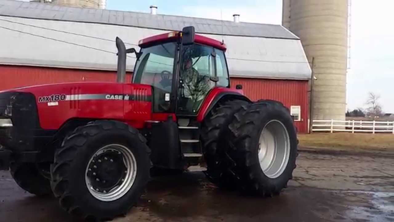 Case IH MX 180, 200, 220, 240, 270 Magnum Tractor Service Repair Manual PDF