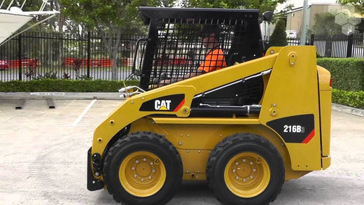 Caterpillar 216B3 SKID STEER LOADER Service Repair Manual JXM