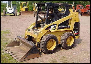 Caterpillar 216 SKID STEER LOADER Service Repair Manual