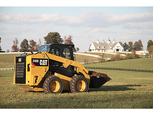 Caterpillar 246 Skid Steer Loader Service Repair Manual 5SZ04000-UP