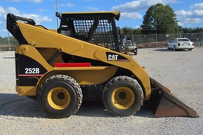 Caterpillar 252B Skid Steer Loader Service Repair Manual TNK00001-UP