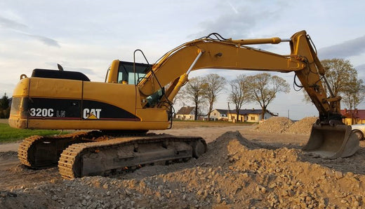 Caterpillar 320C Excavator Service Repair Manual GLA00001-UP