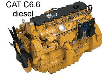 Caterpillar C6.6 Diesel Engine Parts Manual (S/N 666) Download