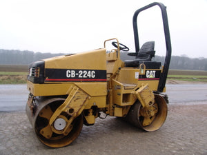Caterpillar CB 224C VIBRATORY COMPACTOR 3AL Service Repair Manual PDF