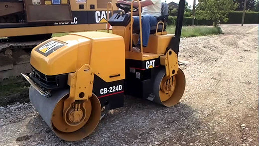 Caterpillar CB 224D VIBRATORY COMPACTOR 8RZ Service Repair Manual PDF