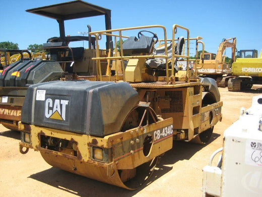 Caterpillar CB 434C VIBRATORY COMPACTOR 4MW Service Repair Manual PDF