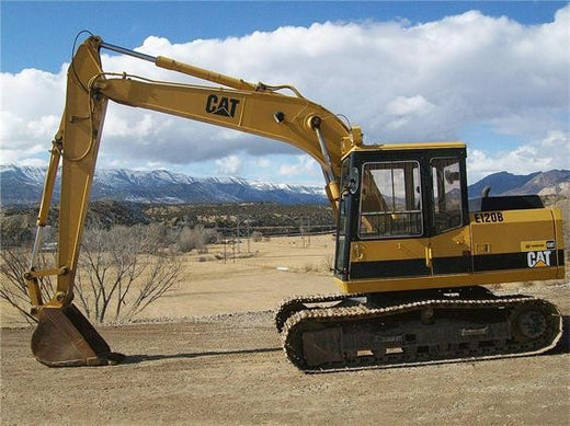 Download Caterpillar E120B EXCAVATOR Service Repair Manual 6JF