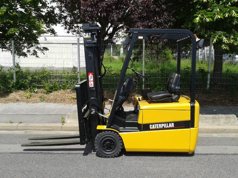 Caterpillar EP16KT EP18KT EP20KT Forklift Lift Truck Service Repair Workshop Manual