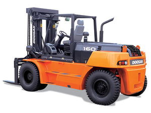DOOSAN D110S-5, D130S-5, D160S-5 LIFT TRUCK Shop Service Repair Manual
