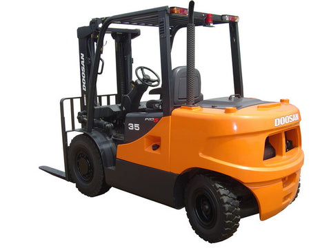 DOOSAN D35S, D40S LIFT TRUCK Shop Service Repair Manual