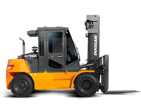 DOOSAN D50S-2, D60S-2, D70S-2, D80S-2 (Three Speed Transmission) LIFT TRUCK Shop Service Repair Manual