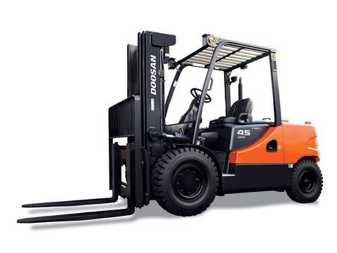 DOOSAN D50, D60, D70 LIFT TRUCK Shop Service Repair Manual