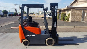 DOOSAN GC15S-2, GC18S-2, GC20SC-2 LIFT TRUCK Shop Service Repair Manual