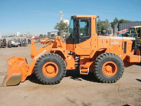 Deawoo Doosan MEGA 200-V Wheel Loader Shop Service Repair Manual