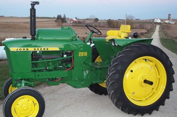 John Deere 2010 Wheel Tractor Service Repair Technical Manual sm2036