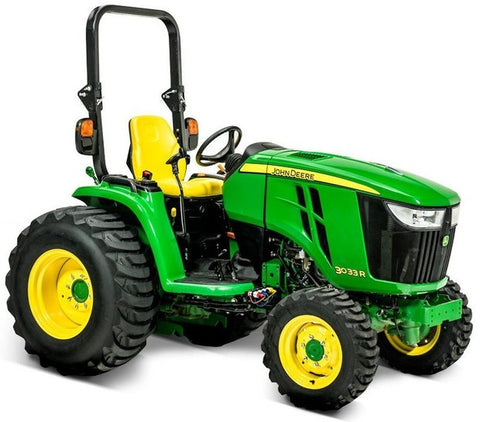 John Deere 3033R, 3038R, 3039R, 3045R, 3046R Compact Utility Tractor Technical Service Repair Manual TM130619