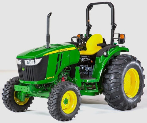 John Deere 4044M 4044R 4049M 4049R 4052M 4052R 4066M 4066R Tractor Technical Service Repair Manual TM131019