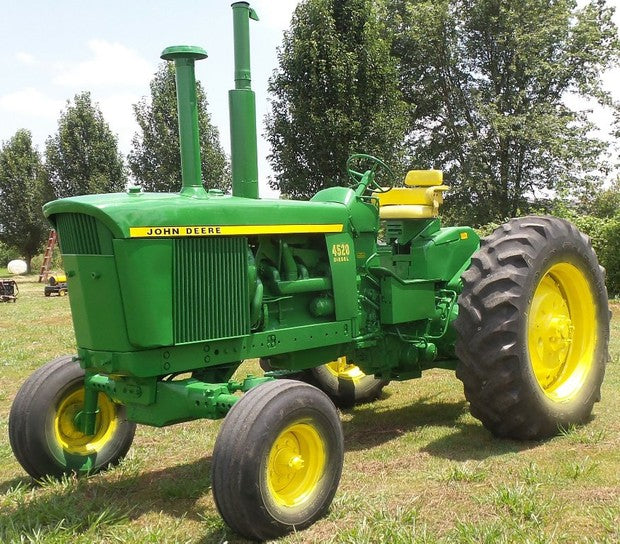 John Deere 4520 Tractor Diagnostic, Operation and Test Service Repair Technical Manual tm1007