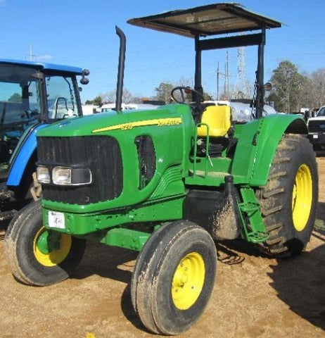 John Deere Tractor 6215, 6415, 6615, 6715 Diagnostic, Operation and Test Service Repair Manual TM4648