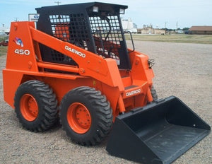 Doosan 430, 440, 450, 460 Skid Steer Loader Service Repair Manual PDF