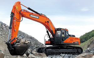 Doosan DX200 Series Excavator Service Repair Shop Manual