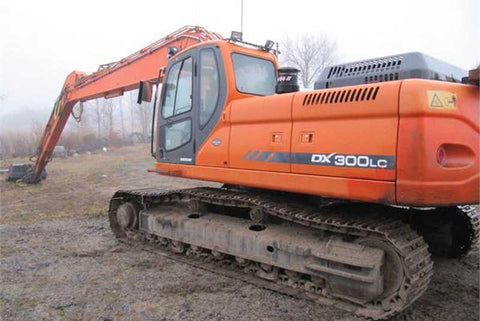 Doosan DX300LC Crawler Excavator Service Repair Manual PDF