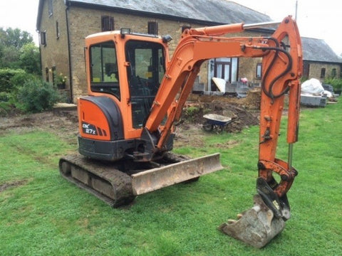 Doosan Dx27z Track Excavator Shop Service Repair Manual SN: 5001 and Up