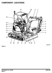 Doosan Excavator DX35Z Workshop Service Repair Manual