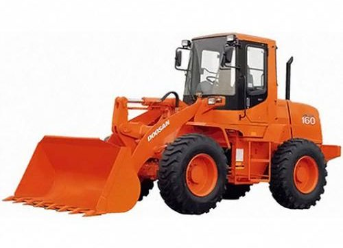2001 Doosan Mega 160, 160TC Wheel Loader Workshop Service Repair Manual