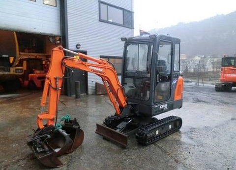 Doosan Solar 015 PLUS, 018-VT Crawled Excavator Workshop Service Repair Manual