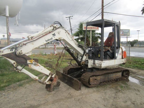 Download Bobcat 116 Mini Excavator Operation and Maintenance Manual