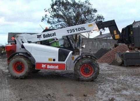 Download 2006 Bobcat T35100, T35100L, T35100SL, T35120L, T35120SL Telescopic Handler Workshop Service Repair Manual