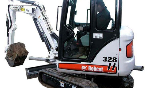 Download 2007 Bobcat 325, 328 Compact Excavator Workshop Service Repair Manual