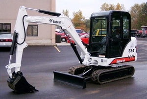 Download 2009 Bobcat 331, 331E, 334 Mini Excavator Workshop Service Repair Manual