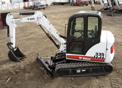 Download 2009 Bobcat 335 Compact Excavator Workshop Service Repair Manual