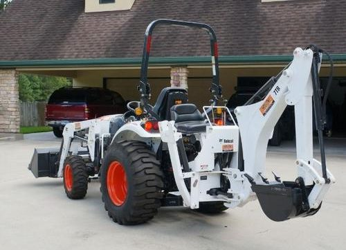 Download 2010 Bobcat Tractor Backhoe 6TB, 7TB, 8TB Workshop Service Repair Manual