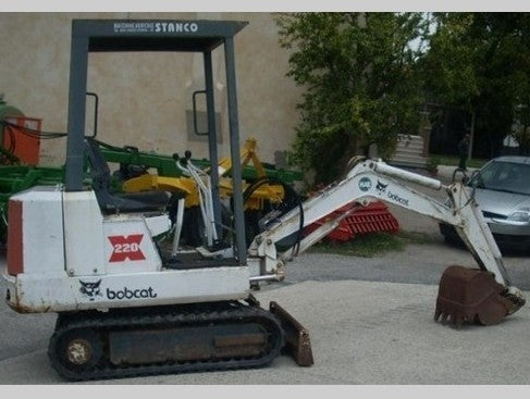 PDF Bobcat 220 Excavator Service Repair Manual 15001