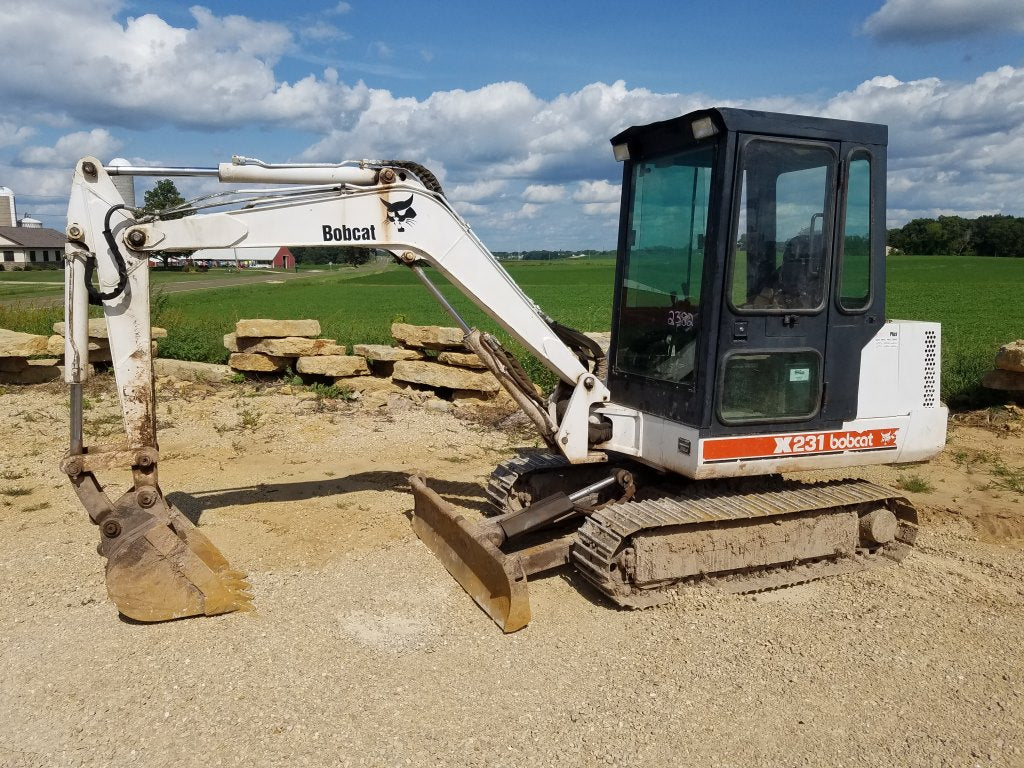 PDF Bobcat 231 Excavator Service Repair Manual 508912001