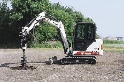 Download Bobcat 331, 331E, 334 Compact Excavator Service Repair Workshop Manual