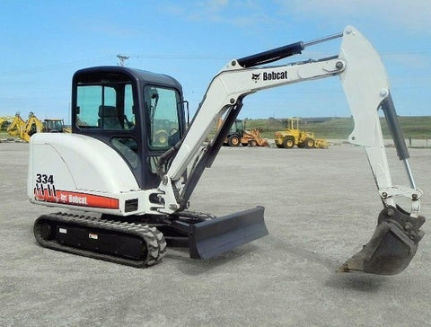 Download Bobcat 331, 331E, 334 Mini Excavator Service Repair Manual