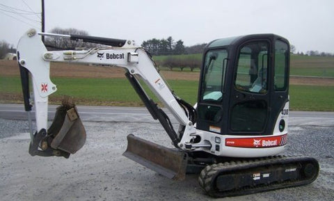 Download Bobcat 430 Mini Excavator Workshop Service Repair Manual