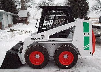 Download Bobcat 641, 642, 643 Skid Steer Loader Workshop Service Repair Manual