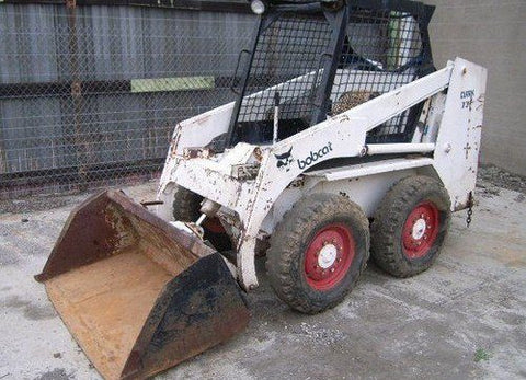 Download Bobcat 730, 731, 732 Skid Steer Loader Workshop Service Repair Manual