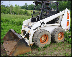 Download Bobcat 843, 843B Skid Steer Loader Workshop Service Repair Manual