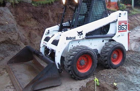 Download Bobcat 863, 863 High Flow Skid Steer Loader Workshop Service Repair Manual