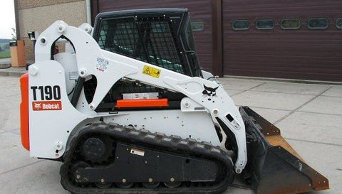 Download Bobcat T190 Turbo High Flow Track Loader Workshop Service Repair Manual