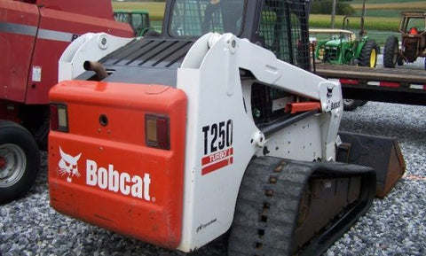 Download Bobcat T250 Turbo High Flow Track Loader Workshop Service Repair Manual