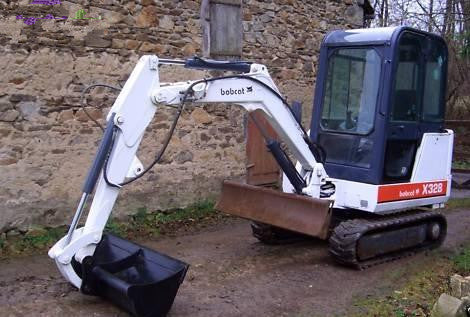 Download Bobcat X325, X328 Mini Excavator Workshop Service Repair Manual