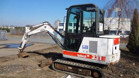 Download Bobcat X331 Mini Excavator Workshop Service Repair Manual